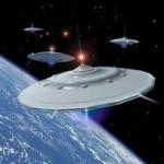 К Земле летит неизвестный космический корабль